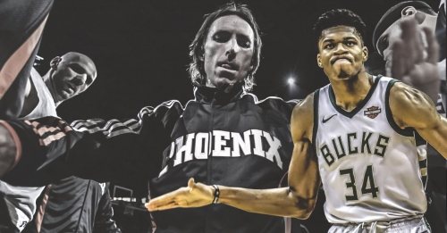Giannis Antetokounmpo gets compared to Steve Nash