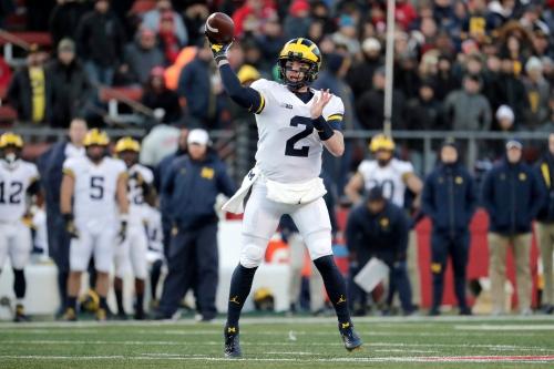 Michigan football stock watch: Shea Patterson, passing game soaring