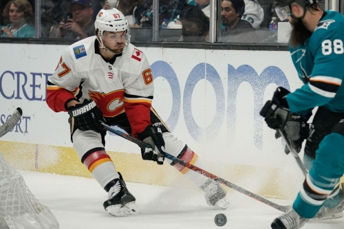 Flames at Sharks Preview: Be careful playing with fire