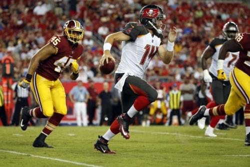 Washington Redskins vs Tampa Bay Buccaneers 1st Quarter