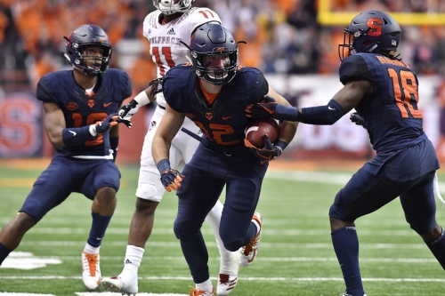 Syracuse football ranked 12th in this week's Coaches Poll