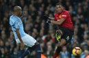 Man City player ratings vs Manchester United: Fernandinho class and Sergio Aguero lethal