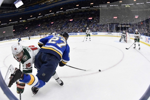 Wild at Blues Game Thread