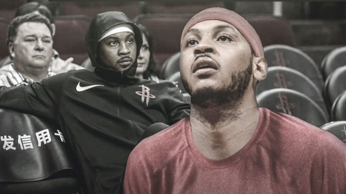 Rockets' Carmelo Anthony ruled out again with illness