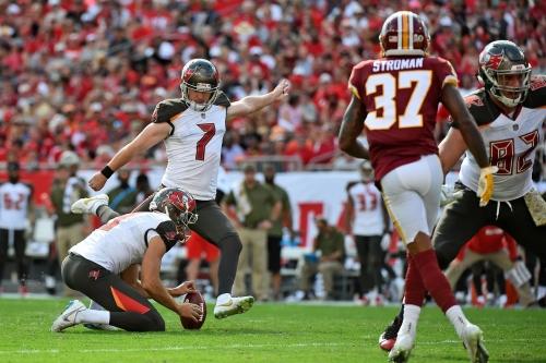 Tampa Bay Buccaneers fall to Washington Redskins