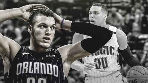 Magic's Aaron Gordon dealing with a sprained left ankle