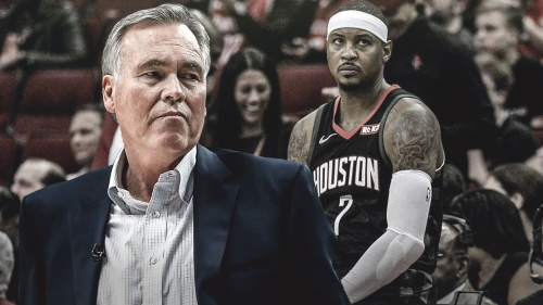 REPORT: Carmelo Anthony has been informed his time in Houston will soon be over
