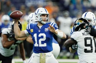 Jaguars' comeback falls short in 29-26 loss to Andrew Luck, Colts