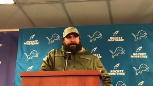 Detroit Lions' Matt Patricia on if his team is still buying in after loss to Bears
