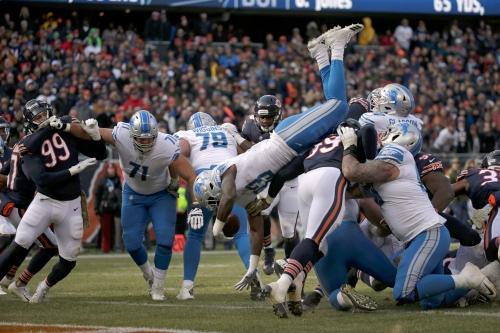 Detroit Lions: Grade their performance vs. Chicago Bears