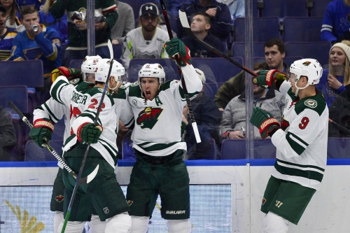Wild escape St. Louis with 3-2 win, finish road trip 5-2