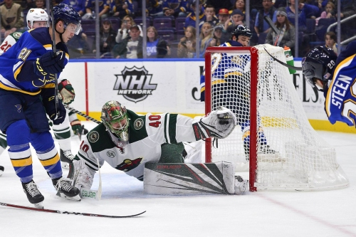 Wild Vs. Blues Recap