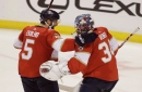 Panthers ride 5-goal frame to win over Senators