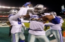 Throw up the 'X'! Cowboys LB Jaylon Smith pays homage to Dez Bryant after huge play vs. Eagles