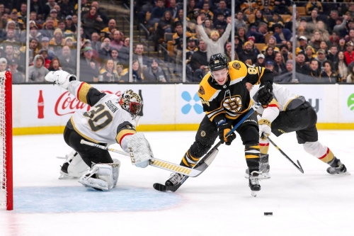 Year 2, Game 18: Golden Knights run over by Bruins 4-1