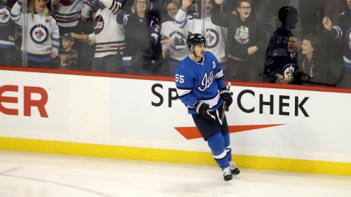 Mark Scheifele's three-point performance powers Jets past Devils