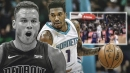 Video: Pistons' Blake Griffin ejected for dirty play on Hornets' Malik Monk