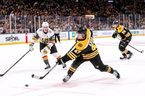 RECAP: Boston ends homestand with a 4-1 win over the Golden Knights