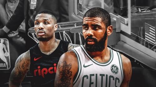 Celtics shot at non-regulation, slanted rim in first half vs. Blazers