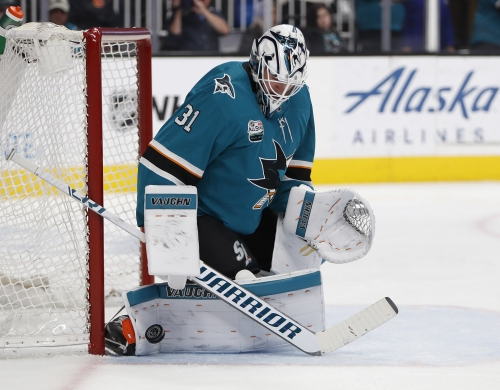 Sharks D up in win over Flames