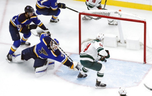 Blues better but not good enough in another loss to Wild