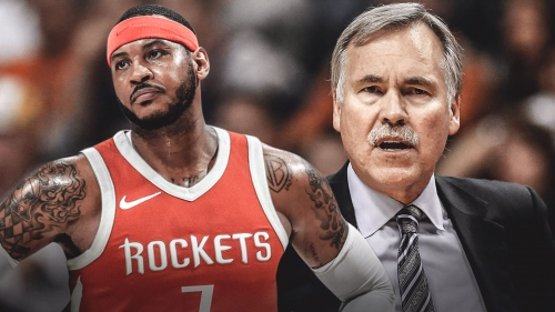 Rockets coaches, players think Carmelo Anthony is on his way out