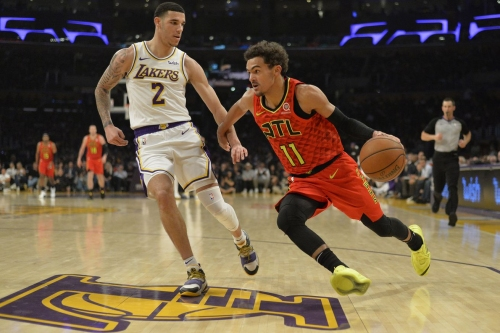 Hawks suffer close-fought loss to Lakers, 107-106