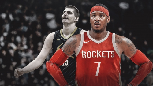 REPORT: Carmelo Anthony won't join Rockets on trip to Denver
