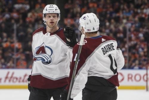 Avalanche roars past Edmonton Oilers to snap five-game losing streak