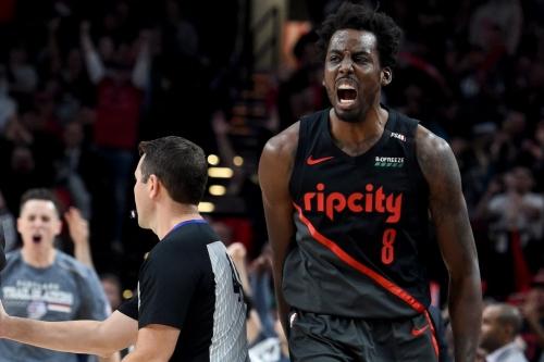 Blazers win shootout with Celtics