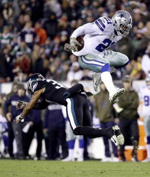 Elliott takes giant leap needed to lift Cowboys past Eagles