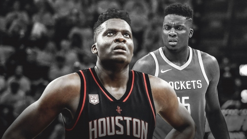 Rockets' Clint Capela downplays banged knee vs. Pacers