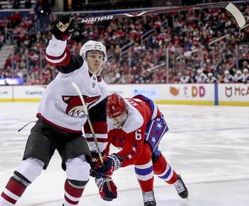 NHL roundup: Coyotes score 2 power-play goals in 4-1 win over Capitals