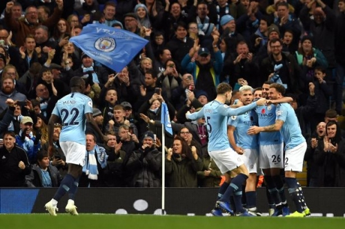 How Man City players reacted to derby win over Manchester United