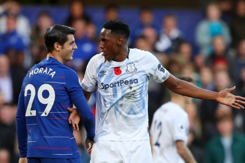 Everton FC defender proves he can handle the Premier League's best