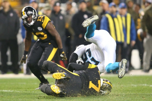 Steelers great Alan Fancea stands behind David DeCastro's actions after Eric Reid's high hit