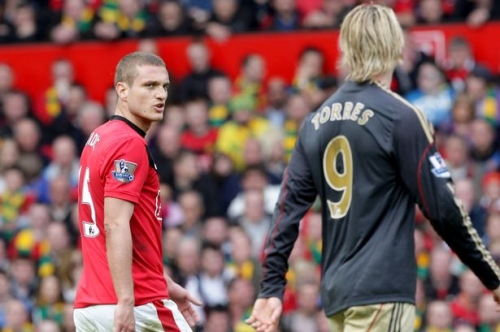 Manchester United icon Nemanja Vidic answers Fernando Torres question