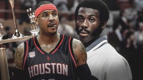 Rockets had Bob McAdoo dreams for Carmelo Anthony