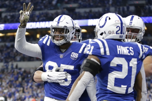 3 more TDs later, ex-Lions TE Eric Ebron flourishing with Colts