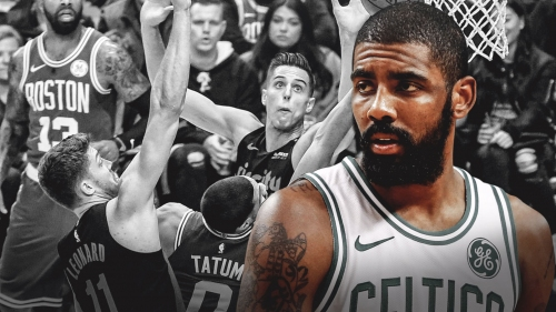 Celtics' Kyrie Irving after loss to Blazers: 'We're not as good as we think we are'