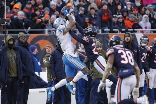 Lions Week 10 player of the game: 5 Game Ball candidates vs. Bears