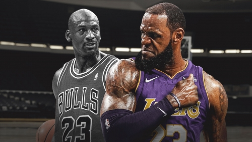 Lakers' LeBron James passed Michael Jordan in career points for regular season, playoffs combined