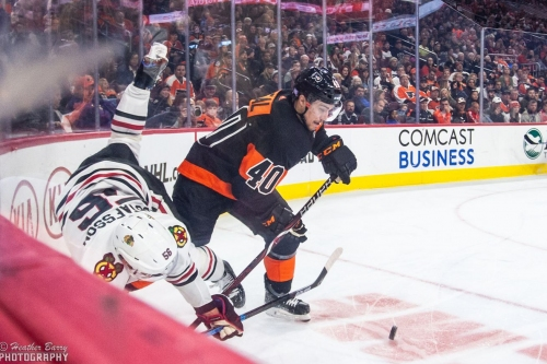 Photo Gallery: Flyers vs Blackhawks