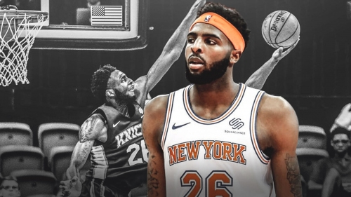 Mitchell Robinson establishes Knicks rookie record with 9 blocks