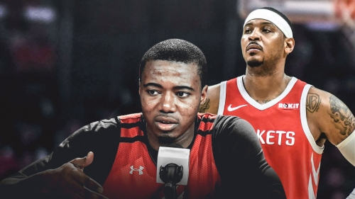 Gary Clark could take over Carmelo Anthony's role if released by Rockets