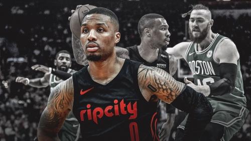 Blazers' Damian Lillard admits he tweaked his knee vs. Celtics