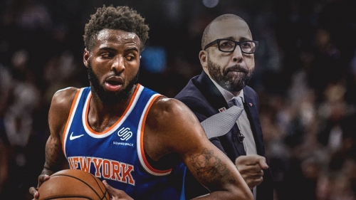 Mitchell Robinson credits David Fizdale for helping him stamp Knicks rookie record