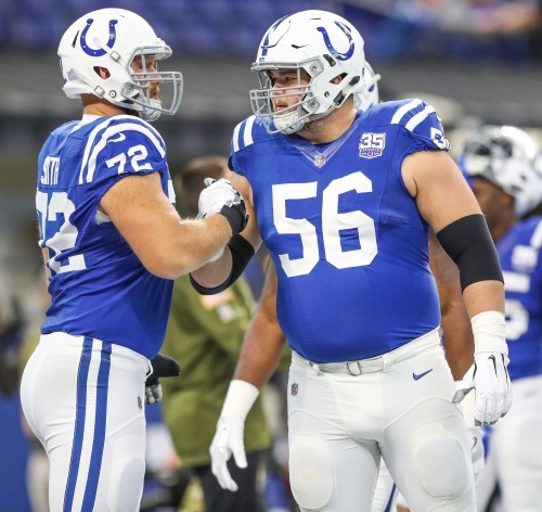 Screaming Colts guard Quenton Nelson is terrifying