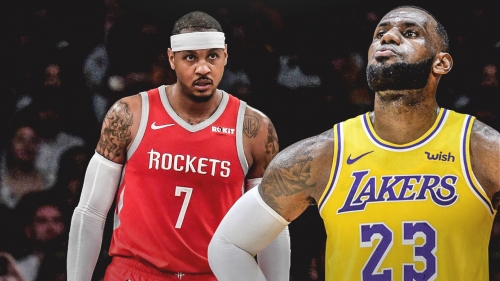Lakers' LeBron James backs up Rockets' Carmelo Anthony amid criticisms
