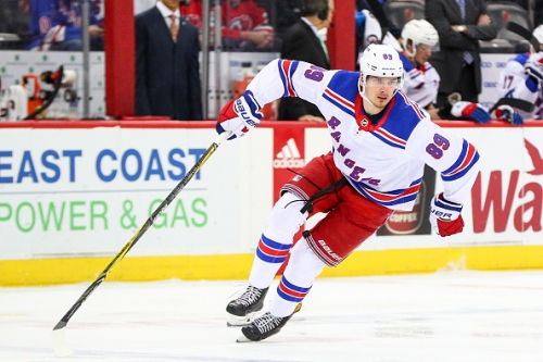 New York Rangers Pavel Buchnevich Out 4-6 With Broken Thumb